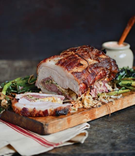 Longe de porc à la reuben
