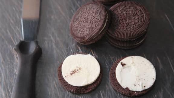 Déconstruire le biscuit à la crème