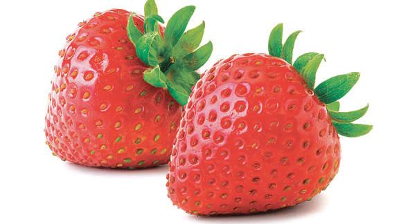 Des fraises... en hiver!