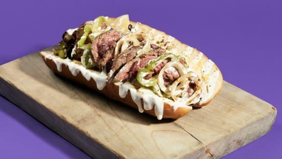 Cheesesteak Sandwich