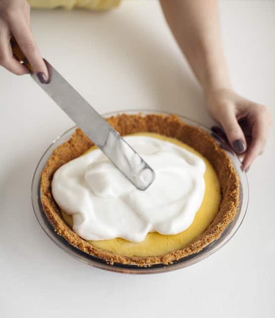 Comment faire une tarte au citron meringuée