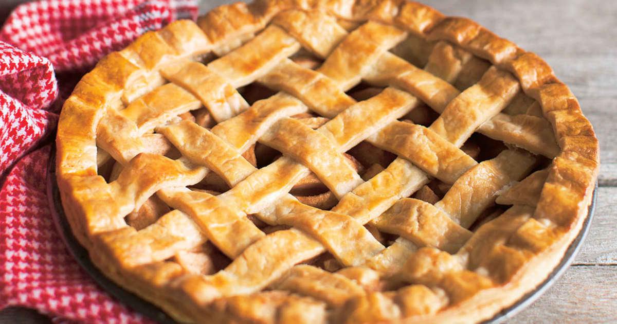 Recette de tarte aux pommes et au fromage | Zeste