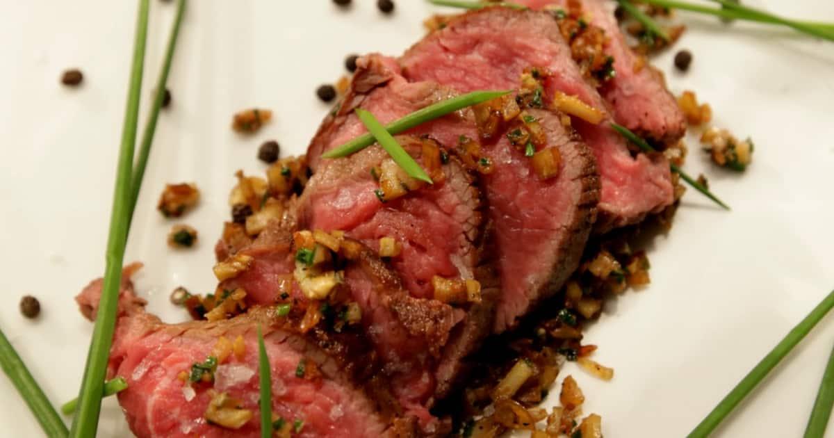 Receta de Tataki de carne |  Ánimo