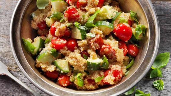salade de quinoa estivale