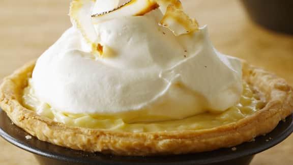 tartelettes à la crème de coco