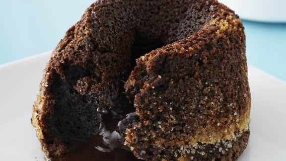 gâteaux au chocolat fondant