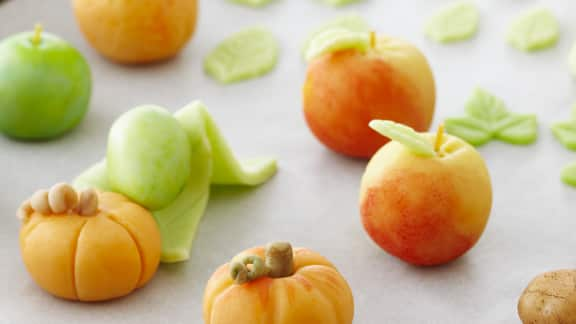 Recette De Fruits En Pate D Amande Foodlavie