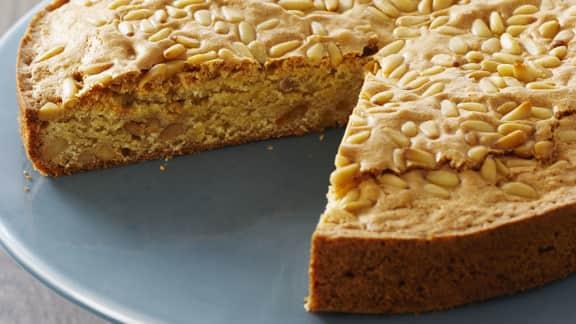gâteau italien aux pignons (noix de pin)