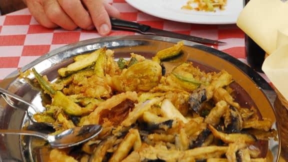 recette de légumes frits