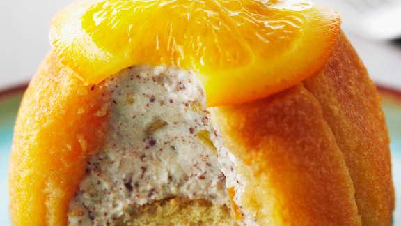 cassatas à l'orange confite