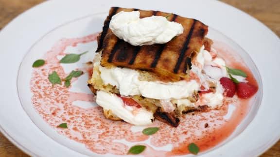 Shortcake aux fraises d'automne