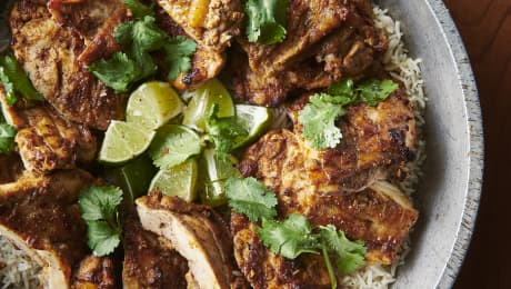 Poulet tandoori au four