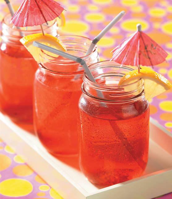 Concentré de citronnade aux fraises