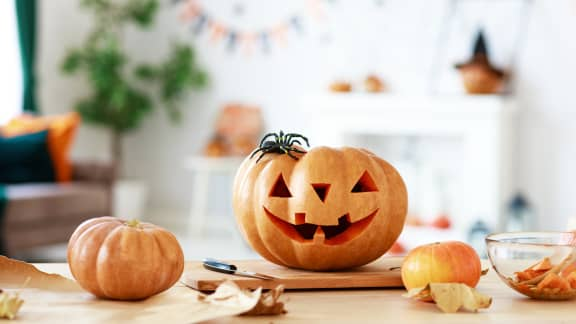 6 astuces pour conserver vos citrouilles d'Halloween plus longtemps