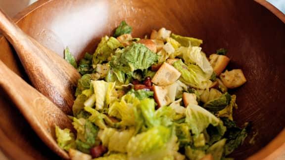 recette de salade c sar classique foodlavie. Black Bedroom Furniture Sets. Home Design Ideas