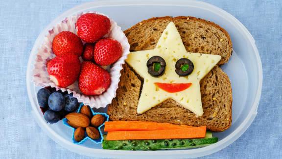 Art du bento : faire des sandwichs mignons!