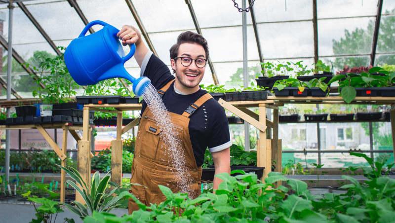 Bryan l'agriculteur urbain