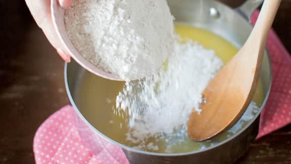 Faire la pâte à choux