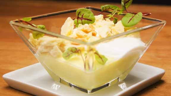 Verrine de tarte au citron