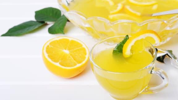 Punch d'été jasmin et citron