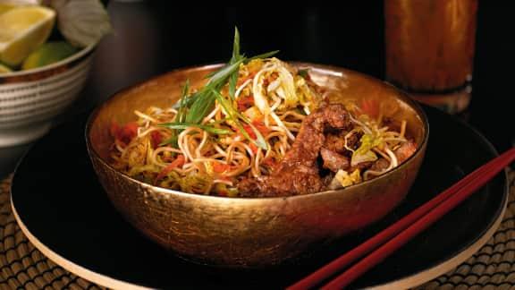 Yakisoba au porc