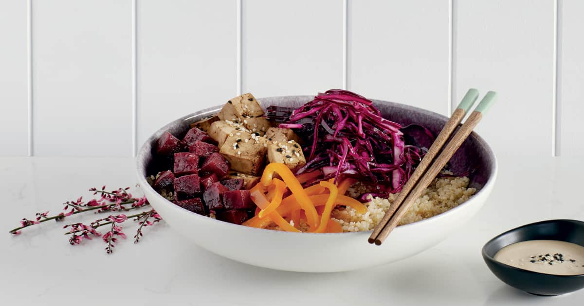 nos meilleures recettes de salade de quinoa foodlavie. Black Bedroom Furniture Sets. Home Design Ideas