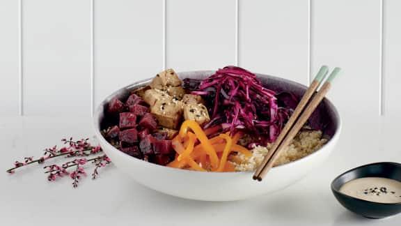 Bol du bouddha au quinoa