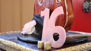 Gâteau d'anniversaire raffiné