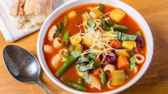 La soupe aux légumes, à cuisiner avec les enfants