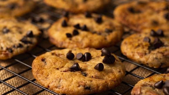 Biscuits aux pépites de chocolat et noix de coco