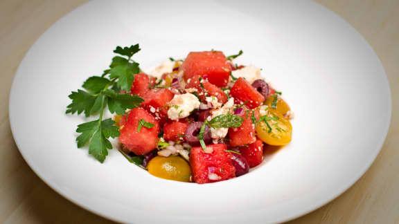 En salade grecque