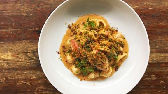 Mac and cheese au homard