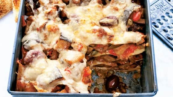 lasagne à la caponata