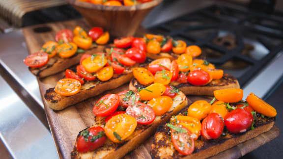 Pensez à cuisiner des plats qui se transportent facilement, où que vous irez!