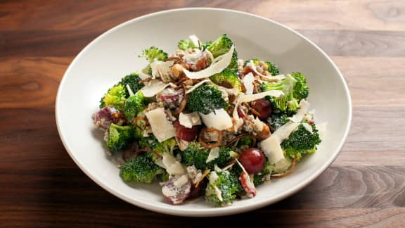 Lundi : Salade gourmande de brocoli