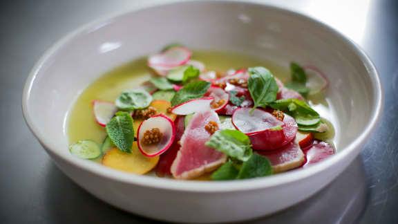 Salade de thon albacore