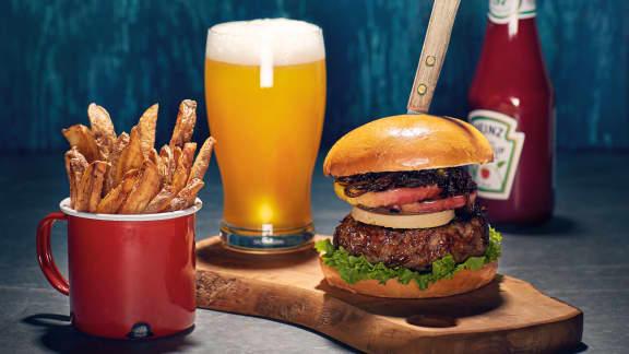 Burger Las Vegas au foie gras