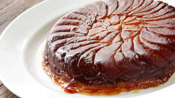 Tarte Tatin traditionnelle