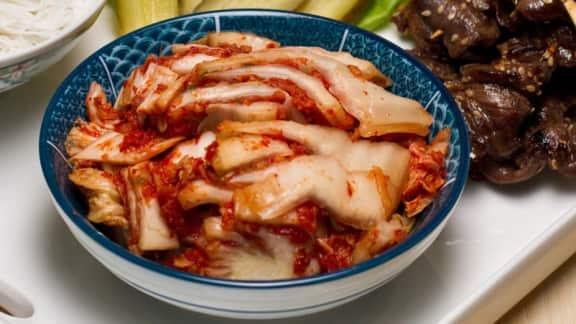 Chou nappa mariné style kimchi