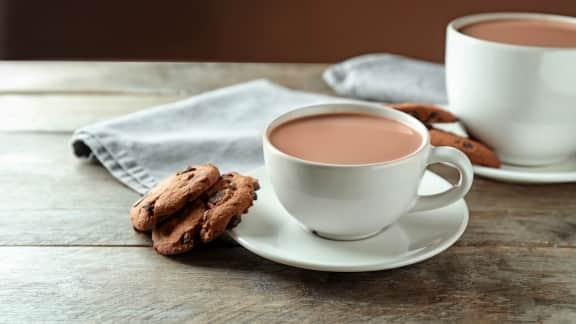 Chocolat chaud traditionnel Juliette et Chocolat