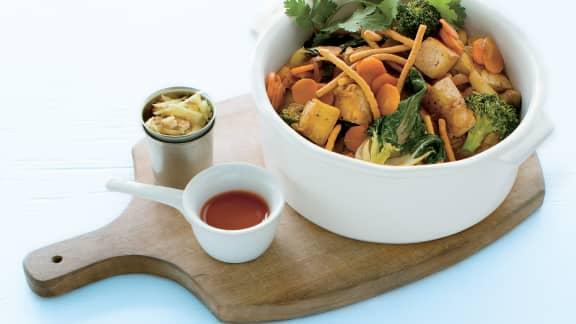 Mardi : Sauté de tofu