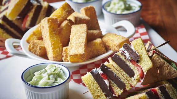 Club Sandwich dessert de l'Épicier