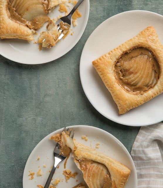 Tartelettes à la poire et à l'amande
