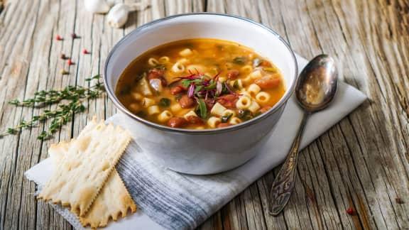 TOP : 10 savoureuses soupes-repas
