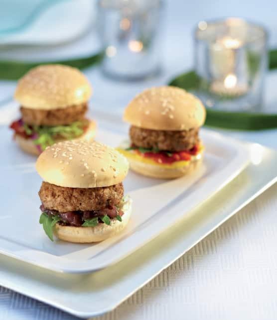 Miniburger de veau de lait du Québec