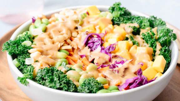 Salade thaïe croquante aux arachides