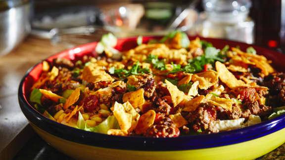 Mercredi : Salade mexicaine au chili
