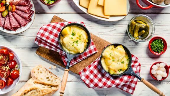 Raclette-déjeuner