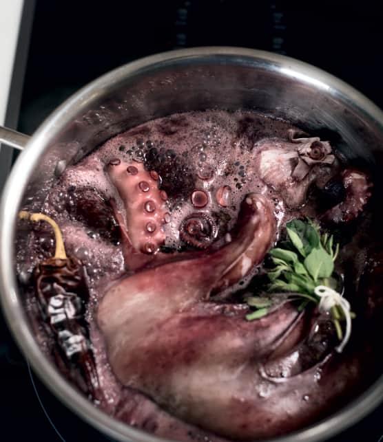 Comment faire de la pieuvre grillée