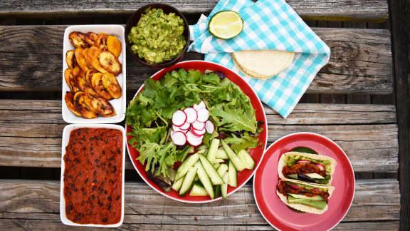 Tacos de Lolos (végétariens)